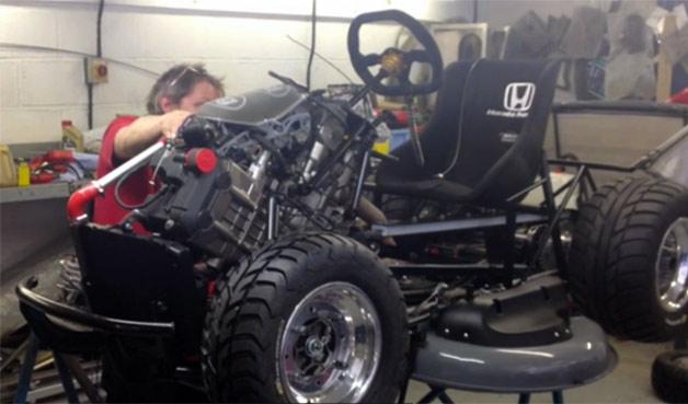 除草車也能飆到209公里?!Honda與 Top Gear一出手,便知有沒有!