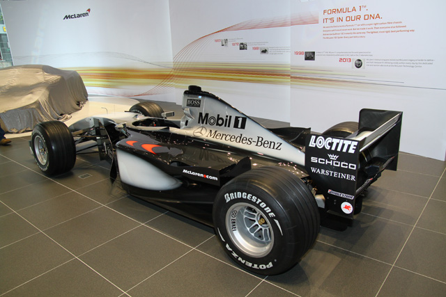 McLaren Taipei品牌旗艦中心正式開幕,台灣唯一F1賽車進駐展示!