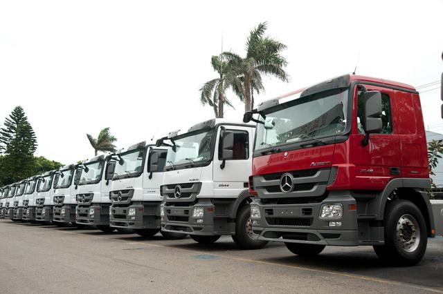 Mercedes-Benz SKD ACTROS稱霸商用車市場 組裝夥伴健益汽車新廠盛大開幕