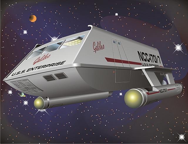 星際爭霸戰影迷協助修復 Gallileo飛船,成品將於休士頓太空中心展出!