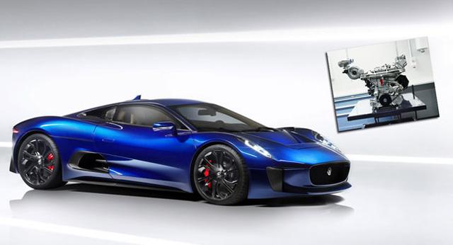 502匹馬力超跑只需繳1.6升低排氣輛稅金?!Jaguar C-X75概念超跑引擎重生有望