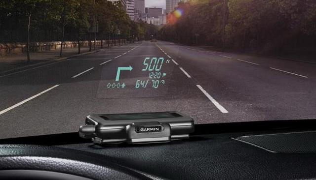 Garmin推出 HUD導航裝置,可搭配各種智慧手機系統!路痴必備利器