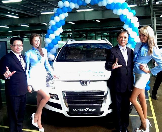 Luxgen俄羅斯宣佈第一部 Luxgen7 SUV正式下線 !並預計 2014導入 Luxgen5 Sedan全新生產線
