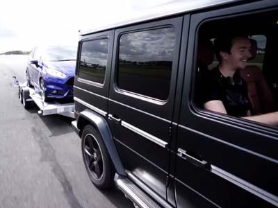 Ford Fiesta ST百公里加速巴掉M-Benz G63 AMG?嚇誰啊?...(至少嚇到我了!)