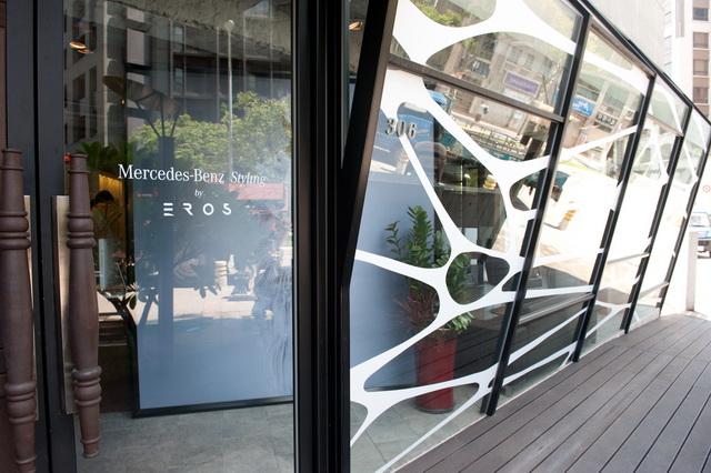 Mercedes-Benz台灣賓士與頂級髮廊 EROS 開設限定店「Mercedes-Benz Styling by EROS」嬌寵車主