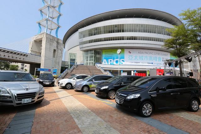 Luxgen智慧科技車系擔任「2013亞太城市高峰會」禮賓車