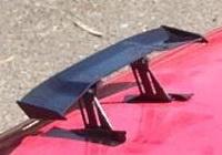 存了半年的錢,終於裝了全新的空力尾翼!