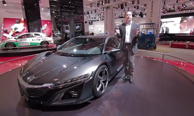 新世代 Honda NSX超跑開發總教頭 Ted Klaus專訪影片,紐柏林賽道他也開過50幾圈!