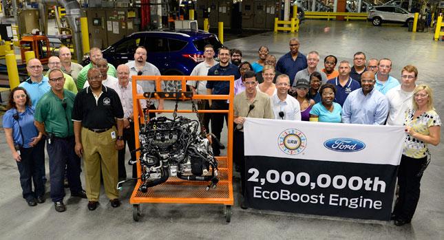 福特EcoBoost引擎生產突破200萬具里程碑!