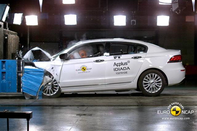 中國開發的車款終於撞出 Euro NCAP五顆星了! Qoros 3比歐洲車還安全