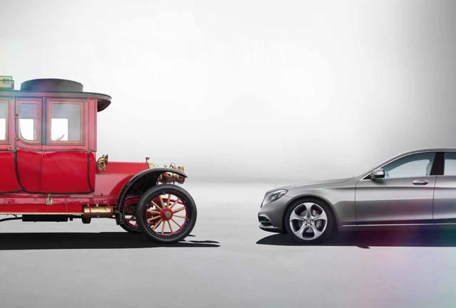 汽車發明者,再次發明汽車,The new S-Class 百年進化