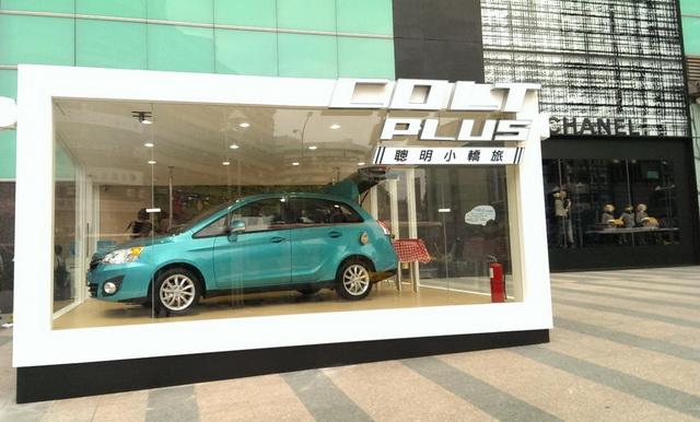 MITSUBISHI新車傳捷報 COLT PLUS訂單突破600台,COLT PLUS貼圖網友天天LINE 下載人數突破450萬
