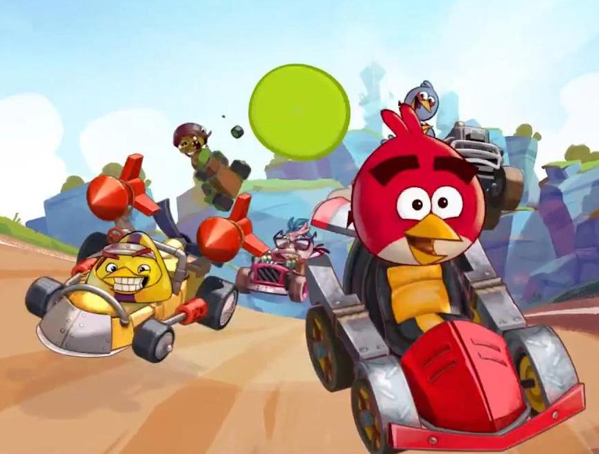 Angry Birds憤怒鳥卡丁賽車遊戲預告片,感覺像山寨版瑪俐歐賽車嗎?