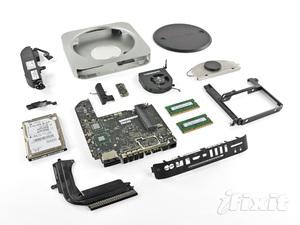更強大的便當盒,2011 Mac mini 脫光光