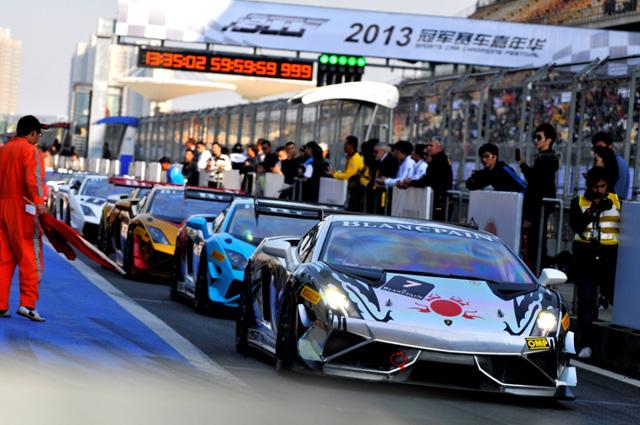 2013 Lamborghini Blancpain Super Trofeo亞洲挑戰賽第五站完美落幕,Gama Racing Team 36號車擁雙獎盃,凱旋歸國!