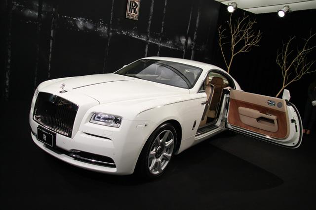 Rolls-Royce Wraith正式在台發表,千萬等級的英式奢華座駕