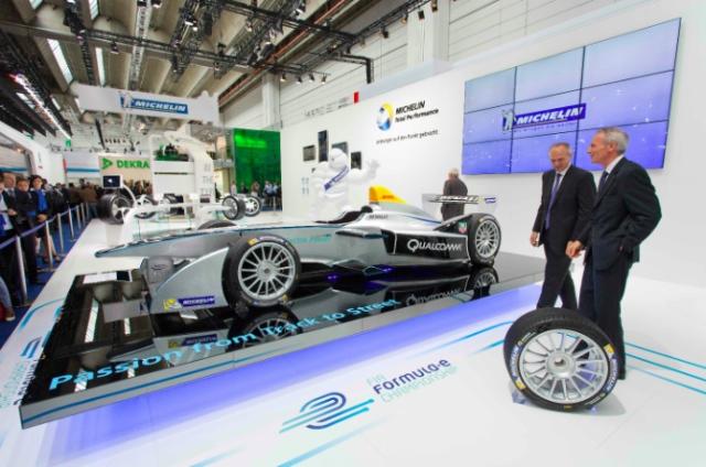 米其林榮獲FIA遴選為Formula E電動方程式大賽官方指定輪胎供應商