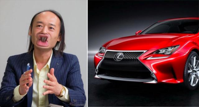 日本網友嘲笑 Lexus家族式設計,PS圖片惡整設計師!