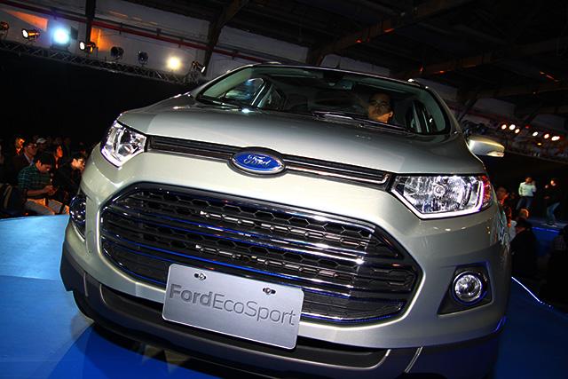 全新 Ford EcoSport 小型休旅正式在台上市!69.9萬給您超多的6顆氣囊!