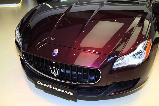 MASERATI Quattroporte S Q4頂級四驅轎跑正式在台上市
