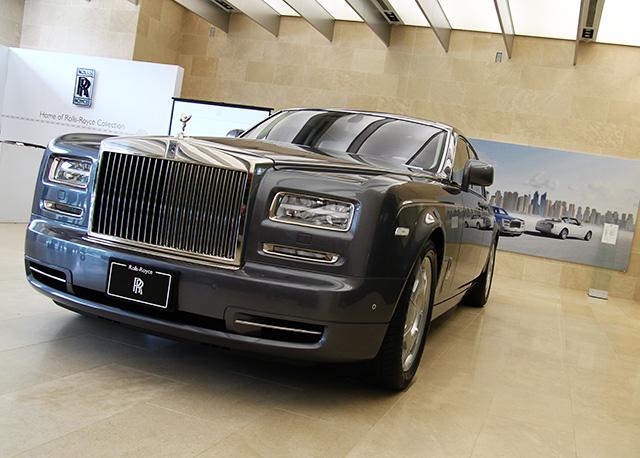 全球限量25台,台灣唯一的Home of Rolls-Royce Phantom頂級轎車,價值約4,000萬新台幣!