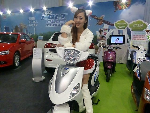 台中資訊月盛大登場 MITSUBISHI靚車大集合,10台e-moving電動二輪車大方送