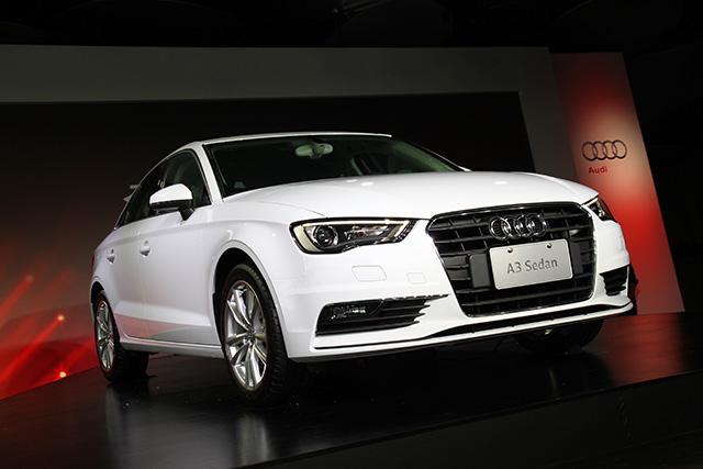 全新Audi A3 Sedan豪華中小型運動跑房147萬元起,在台上市!