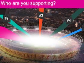 2012倫敦奧運 倒數,上網幫台灣集氣、拼世界排名