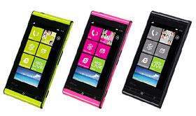 KDDI 首支 Windows Phone Mango 手機:多彩防水 TOSHIBA  IS12T