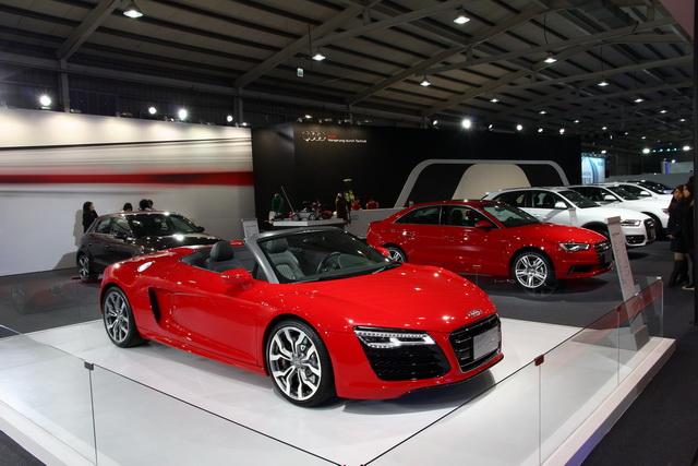 2014 台中新車大展正式登場!Audi 前衛科技再進化!全面引爆性能狂潮