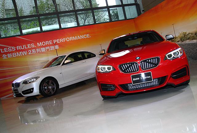 【亞洲首發】全新BMW 2系列雙門跑車正式在台發表,M235i將單挑 Porsche Cayman S!