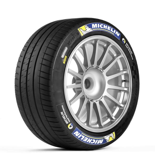 米其林發表內建電子晶片Formula E電動方程式賽車專用輪胎