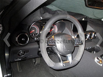 M-Benz AMG GT內裝間諜照曝光!保時捷911殺手今年現身!