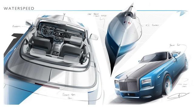 Rolls-Royce Phantom Drophead Coupe Bespoke Waterspeed Collection即將發表