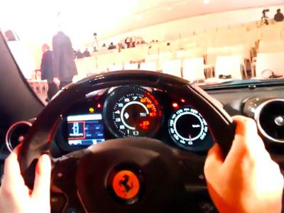 Google Glass重現法拉利 Ferrari California T神秘發表會實況
