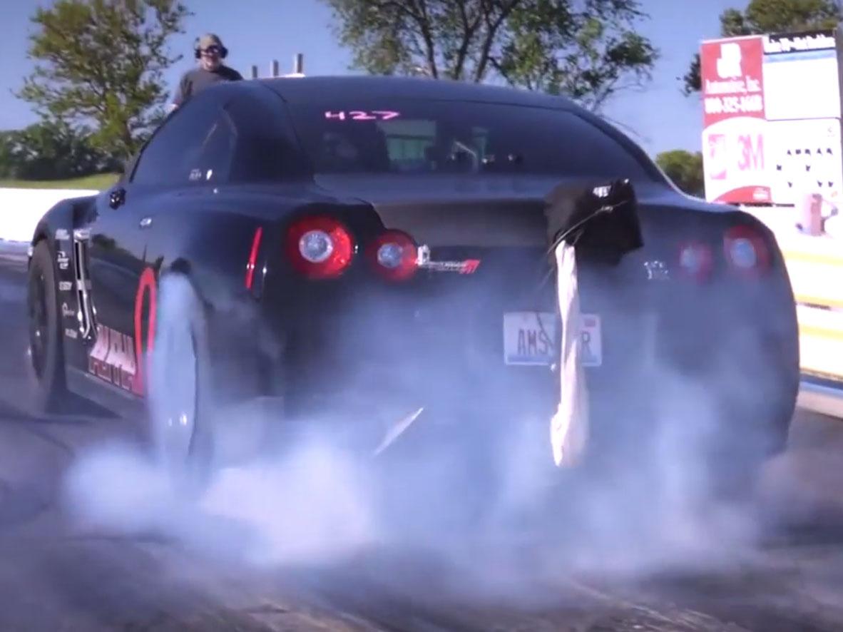 Nissan GT-R戰神強化裝備!AMS Performance Alpha Omega套件上身,百公里加速只要1.72秒!實在是太OP了!
