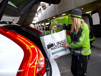 Volvo開發全新送貨系統,網購物品直接送到你車上!