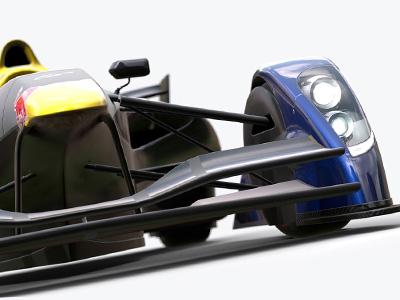 紐伯林賽道單圈最速王-Red Bull X2014概念賽車,3分38秒跑完一圈!