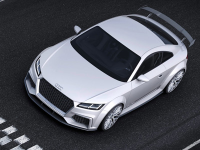 Audi TT / TTS大改款現身,直線加速比 Porsche Cayman S還快!