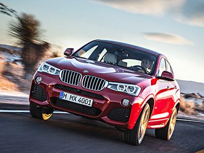 BMW X4登場:融合X6的流線感與X3的體型