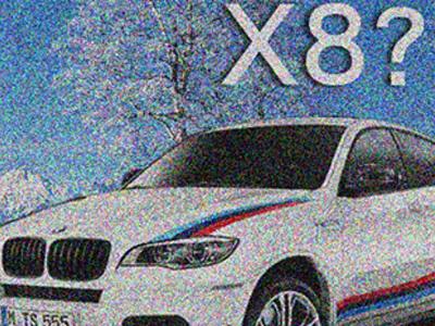 【熱門話題】疑似 BMW全新 X8特大型性能休旅車型錄照曝光?