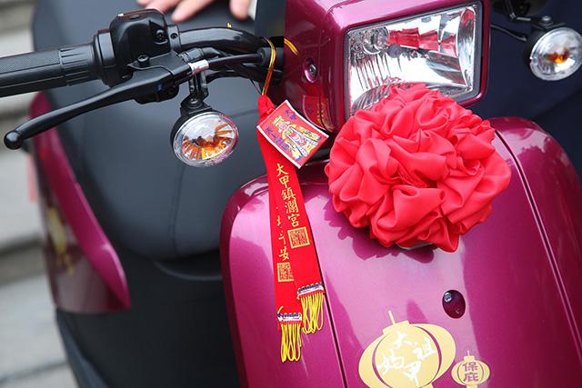 中華e-moving與大甲媽祖合作 加持版特仕車保庇上市