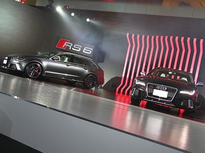 全新Audi RS 6 Avant與 RS 7 Sportback正式登台,560匹渦輪V8動力的極速快感!