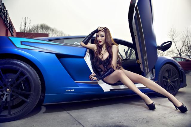 Lamborghini Gallardo舉雙手贊成要讓麻豆騎牛