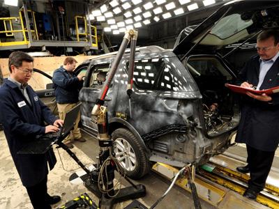 Ford提升虛擬撞擊測試運算能力,奠定最安全品牌目標