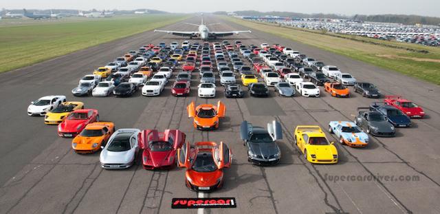 替孤兒募善款!全球最大超跑聚會平均每位車主大方捐出「台幣1000元」!