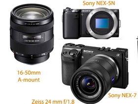 Sony A77、NEX-7、NEX-5N 相機與新鏡頭外觀照流出