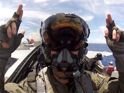 戰鬥機架上 GoPro極限運動攝影機,記錄超強飛行與攻擊畫面!