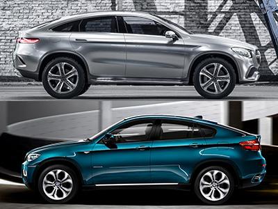 M-Benz Concept Coupe SUV跟 BMW X6像到可以驗 DNA了吧!