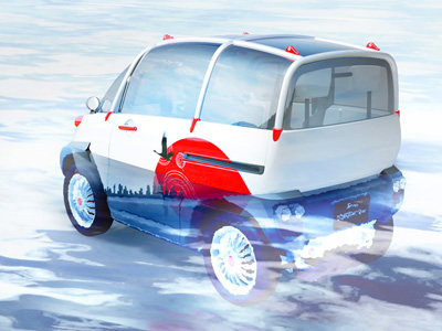 水災與海嘯的剋星:Concept One概念漂浮車!